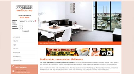 Accommodation Docklands Melbourne
