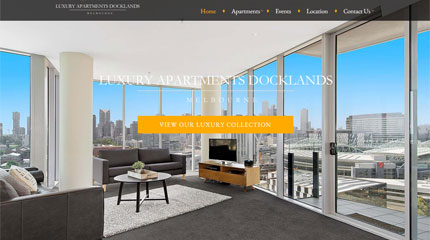 Luxury Apartments Docklands