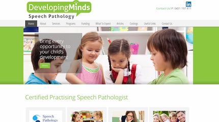 Developing Minds Speech Pathology